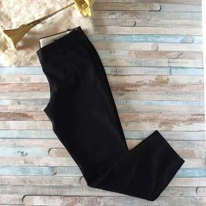 J. Crew Black Minnie Skinny Crop Ankle Pant, 0P